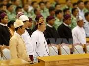 Clausuran primera sesión del nuevo parlamento de Myanmar