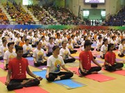 Vietnam acogerá el Segundo Día Internacional del Yoga