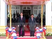 Presidente vietnamita arriba a Vientiane para iniciar visita estatal a Laos