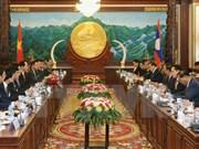 Vietnam y Laos fomentan amistad tradicional y solidaridad especial