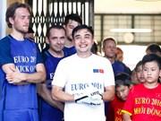 Partido amistoso de fútbol consolida relaciones Vietnam - UE