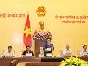 Parlamento de Vietnam revisa cuestiones relacionadas con los tribunales