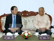 Concluye presidente de Vietnam visita estatal a Laos