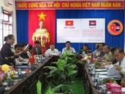 Provincias vietnamita y camboyana construyen frontera común de amistad
