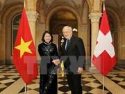 Vietnam es socio prioritario de Suiza en Asia-Pacífico, dijo presidente