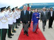 Presidente de Vietnam inicia oficialmente visita estatal a Camboya.