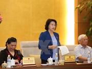 Concluye reunión del Comité Permanente de Parlamento de Vietnam