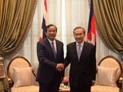 Tailandia y Camboya acuerdan mantener estrecha cooperación