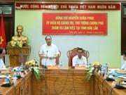 Primer ministro vietnamita continúa gira de trabajo por provincia altiplana