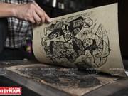 El alma vietnamita en grabados en madera de Tran Nguyen Dan