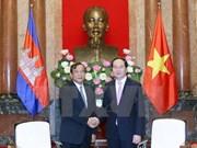 Presidente vietnamita resalta relaciones tradicionales con Camboya