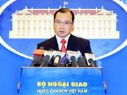 Vocero vietnamita: China debe cesar acciones ilegales en Mar del Este