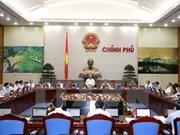 Gobierno vietnamita analiza promulgación de documentos normativos