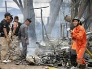 Dos lesionados en un atentado con bomba en Tailandia