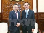 Presidente vietnamita exhorta más inversiones de empresas japonesas