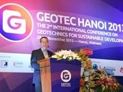 Efectuarán en Vietnam foro internacional de geotecnología