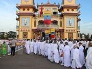 Iglesia Misionera de Cao Dai celebra aniversario 60 de fundación