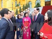 Presidente de Vietnam urge a desplegar activamente tareas diplomáticas