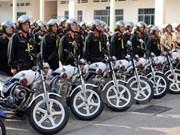 Fuerzas policiales de Vietnam y Laos cooperan en lucha contra crímenes