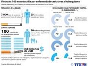 [Infografía] Vietnam: 100 muertos al día por enfermedades relativas al tabaquismo