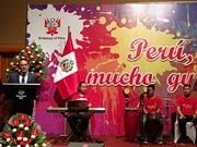 En Hanoi festival gastronómico de Perú