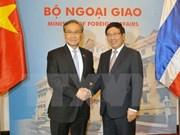 Vietnam y Tailandia acuerdan incrementar conexión económica