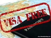 Exención de visado: factor clave para impulsar llegadas internacionales