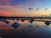 Salinas vietnamitas figuran entre los mejores lugares para crepúsculo
