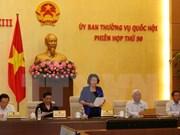 Comité Permanente de Parlamento debate garantía de metas socioeconómicas en 2016