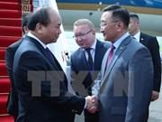 Premier vietnamita llega a Mongolia