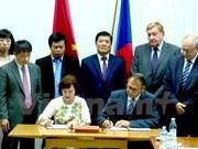 Vietnam y República Checa firman acuerdo de cooperación