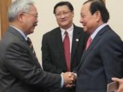 Ciudad Ho Chi Minh y San Francisco promueven cooperación en inversión