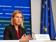 UE exhorta a solución pacífica para disputas en el Mar del Este
