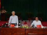 Líder partidista urgió a Dien Bien a optimizar ventajas agro-forestales
