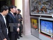 Inauguran exhibición de bellas artes contemporáneas Vietnam- Sudcorea