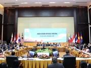 Efectúan en Laos Reunión de Altos Funcionarios de ASEAN