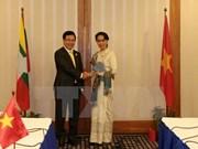 Vietnam y Myanmar pactan robustecer la cooperación bilateral