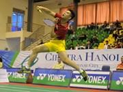 Concluye torneo internacional de bádminton en Vietnam