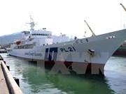 Visita buque escuela japonés Da Nang
