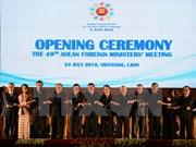 Cancilleres de ASEAN expresan profunda preocupación ante asunto del Mar del Este