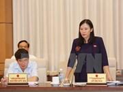 Efectúan pleno de Comisión de Justicia del Parlamento de XIV legislatura