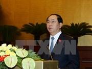 Presentan candidatos a vicepresidente y otros altos funcionarios