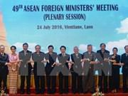 Continúan reuniones en marco de Conferencia de Cancilleres de ASEAN