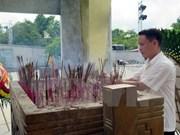 Visita director general de VNA a familiares de mártires
