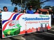 Funcionario tailandés alerta sobre posible inestabilidad política