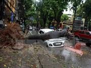 Primer ministro de Vietnam indicó medidas urgentes por tifón Mirinae