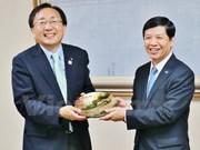 Prefectura japonesa de Aomori impulsa relaciones con provincias vietnamitas