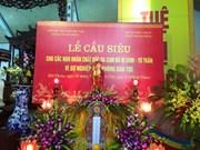 Réquiem en homenaje a víctimas de agente naranja en Hai Phong