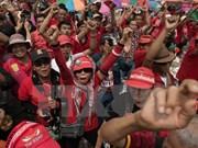 Tailandia: Líderes opositores acusados de violar prohibición de reuniones políticas