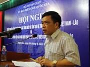 Nuevos sistemas de hitos fronterizos Vietnam-Laos